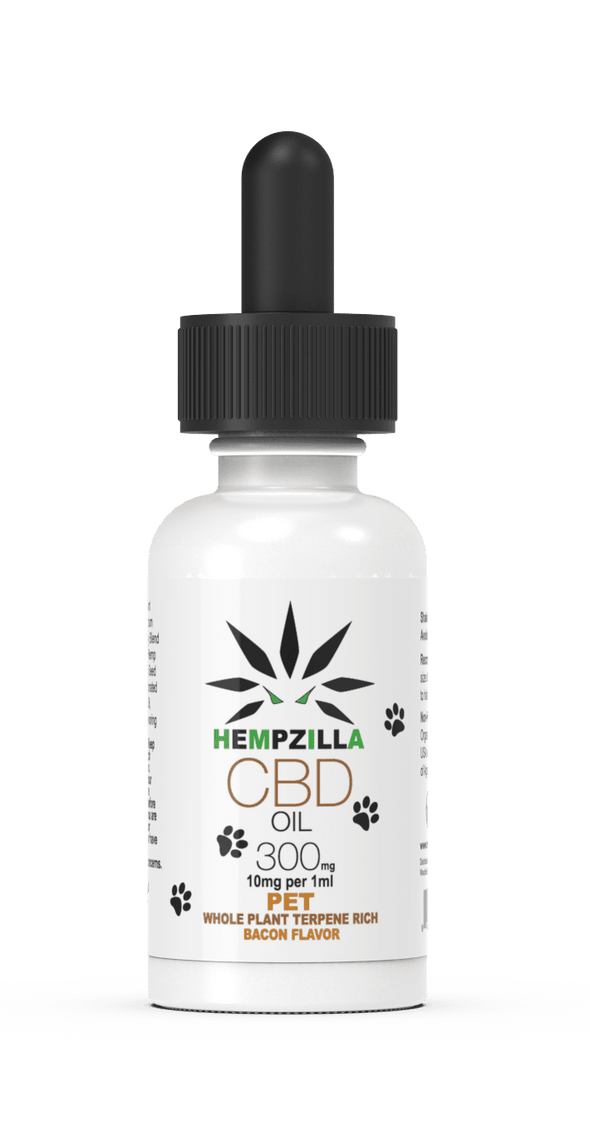 Hempzilla 300mg Pet Tincture