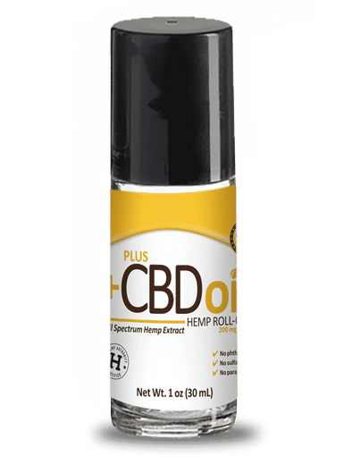 Plus CBD Oil 200mg Roll On Regular Strength