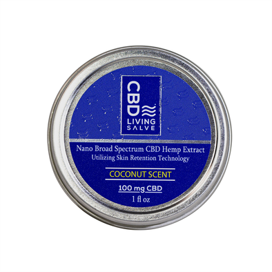 CBD Living 100mg Salve, Travel Size