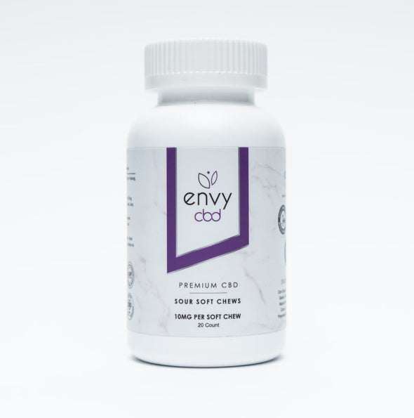 Envy 200mg Sour Gummy 20ct