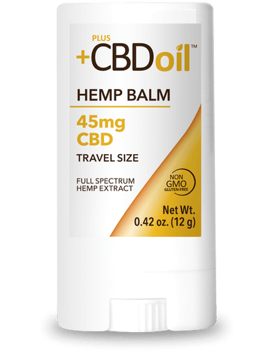 Plus CBD Oil 45mg Gold Balm Travel Size