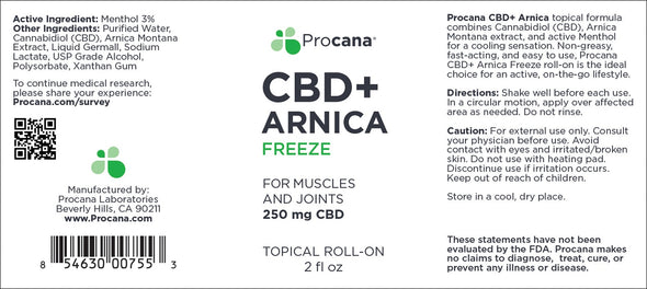 Procana Arnica Roll-On 250mg