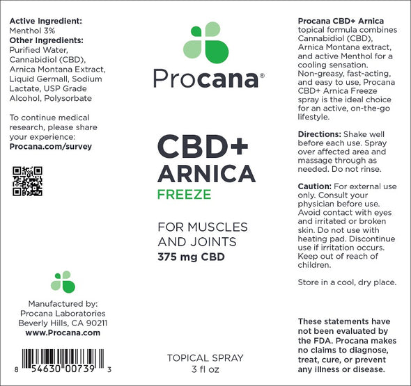 Procana Arnica Spray 375mg