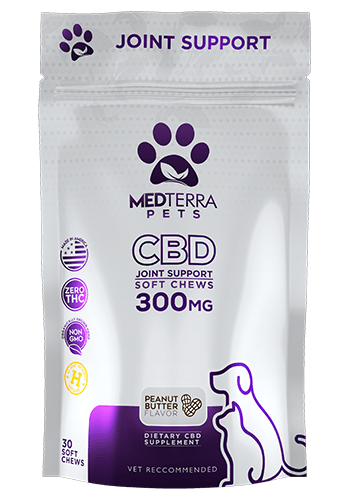 Medterra Medterra Pet Joint Health PB 300mg 30ct.