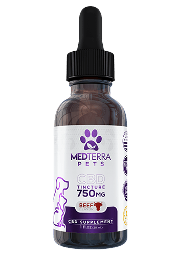 Medterra Medterra Pet 750mg Beef Flavored Tincture