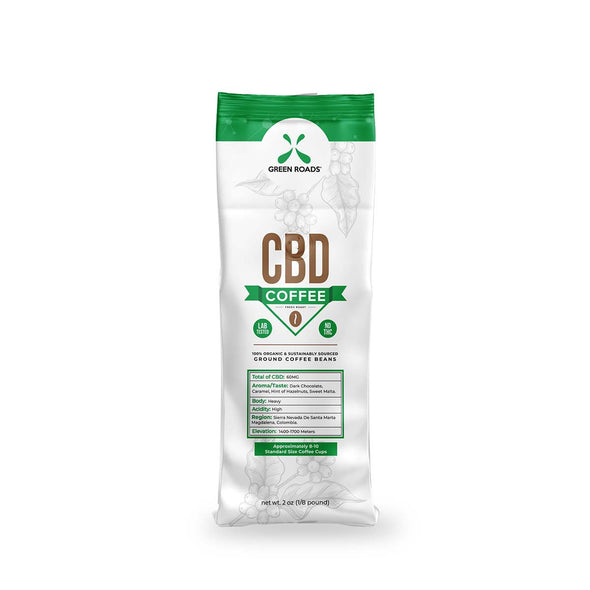 Green Roads 2oz CBD Coffee