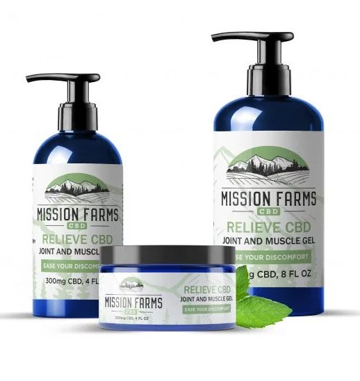 Mission Farms Gel 4oz 300mg