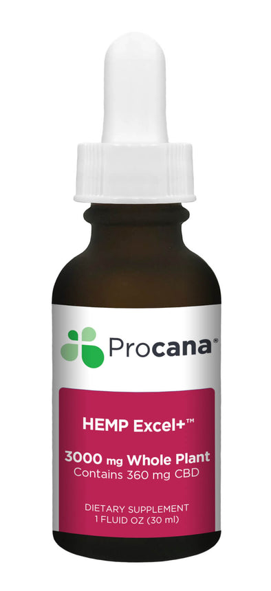 Procana Hemp Excel Dropper 3,000mg
