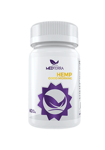 MedTerra Medterra 25mg CBD Good Morning Capsule 60ct