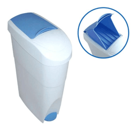 Dust Bin, Plastic, Center Pedal, 19L, Waste Disposal System