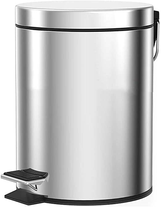 Dust Bin, Steel, Round Center Pedal (WB-1010)
