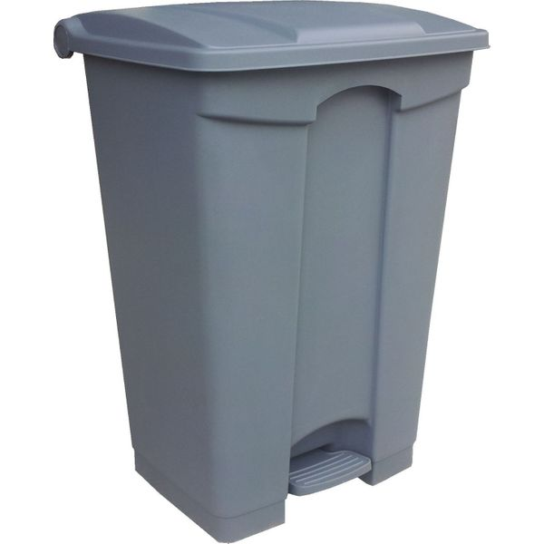Dust Bin, Plastic ,Rectangular, Center Pedal