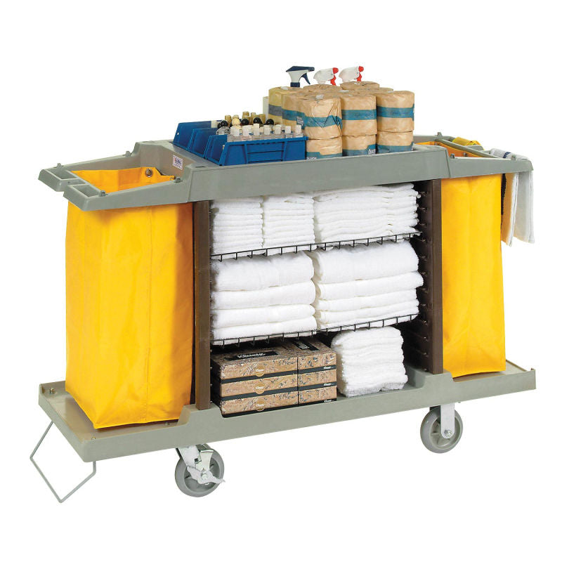 Trolley, Plastic, Hotel Cart, Multifunctional