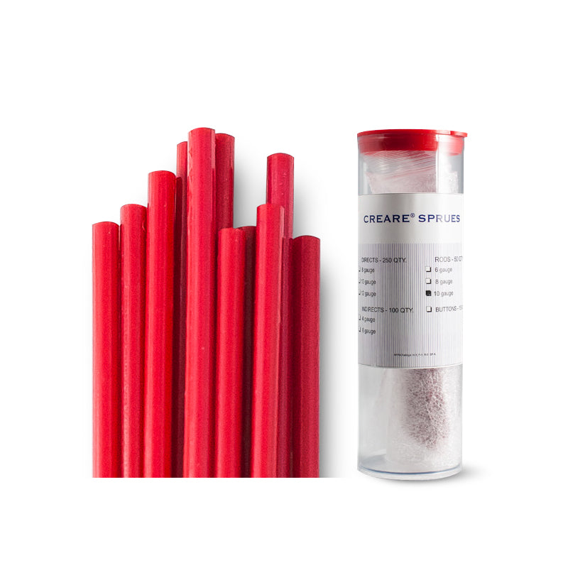 Creare® Sprue Rods - Red