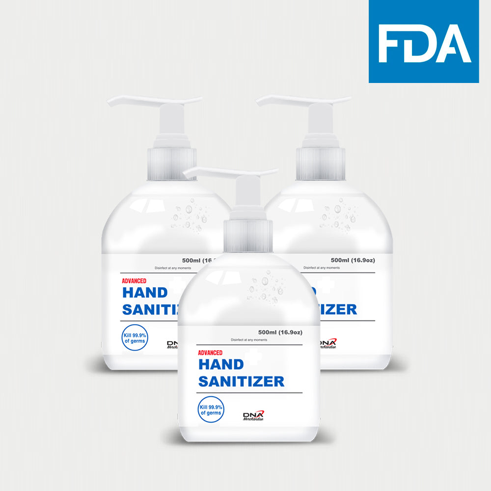 Hand Sanitizer 16.9oz (3 Pack)