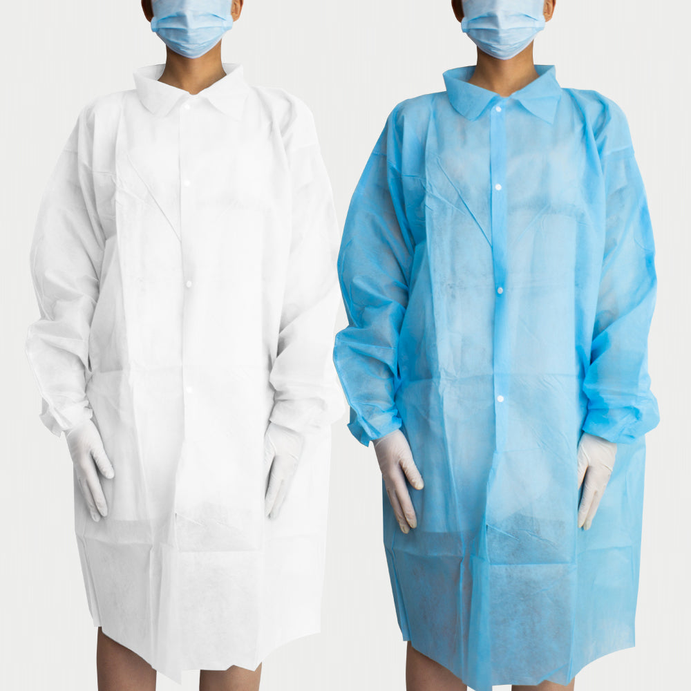 New Disposable Lab Coat Large