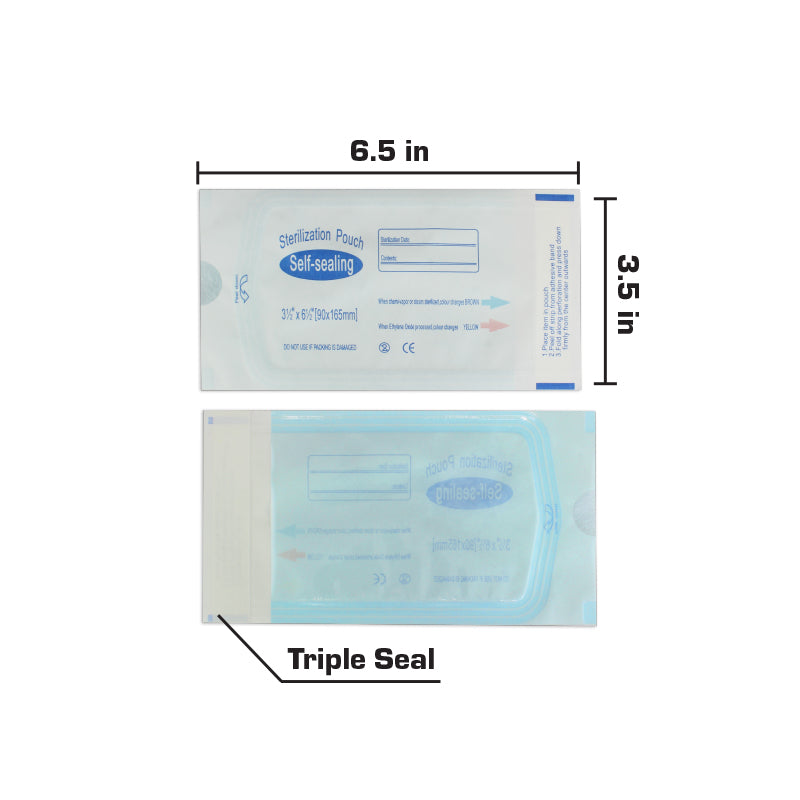 Self Sterilization Pouches