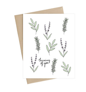 Thinking of You + Sympathy Cards