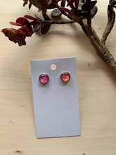 Load image into Gallery viewer, Watercolor Stud Earrings