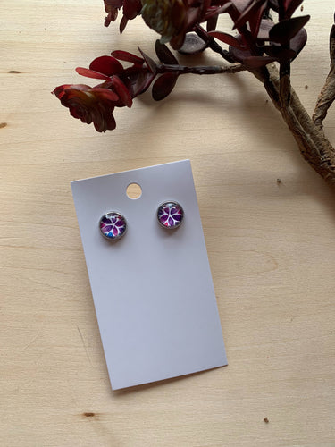 Watercolor Stud Earrings