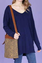Load image into Gallery viewer, Leopard Bag + Pouch