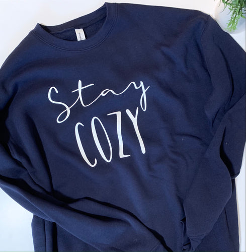 Stay Cozy Crewneck