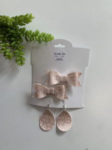 Mommy and Me Earring + Bow Sets