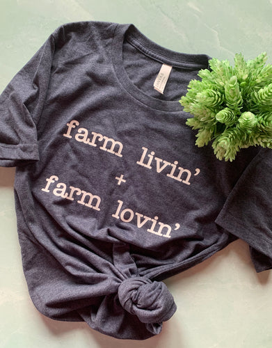 Farm Livin' + Farm Lovin' Graphic Tee