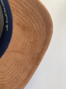 Cinch Suede Brim Flex Fit Hat
