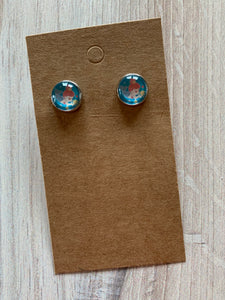 Little Girl Stud Earrings