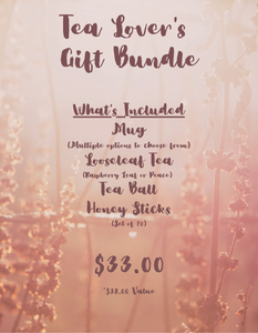 Tea Lover's Gift Bundle