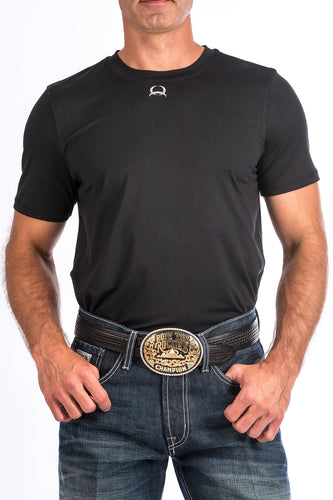 Cinch Men's Black Athletic Tee