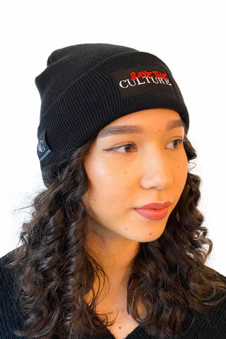 Save the Culture - Red Culture Beanie