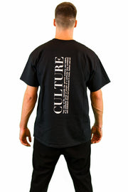 customized culture midnight black culture t-shirt