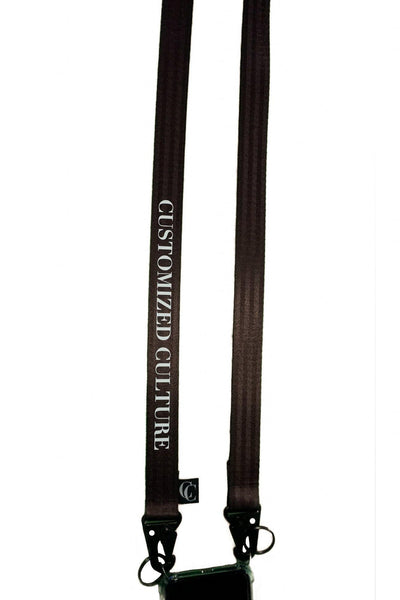 customized culture iPhone Culture Lanyard Dark Brown