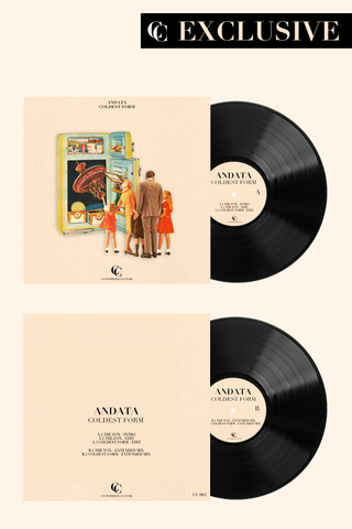 andata coldest form vinyl lp
