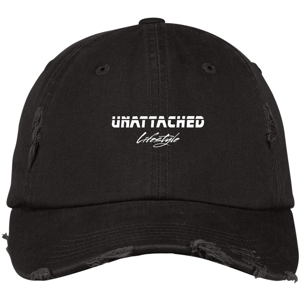 Unattached Distressed Dad Cap