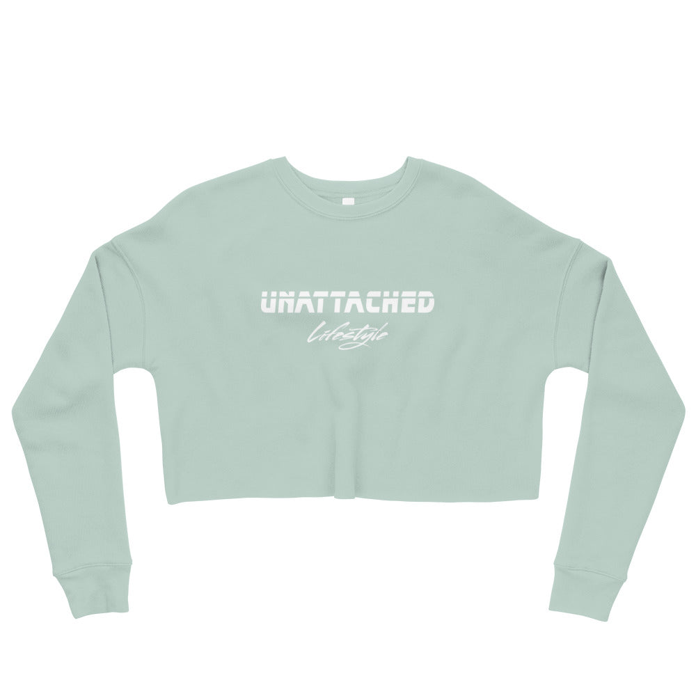 Full Logo Crop Sweatshirt