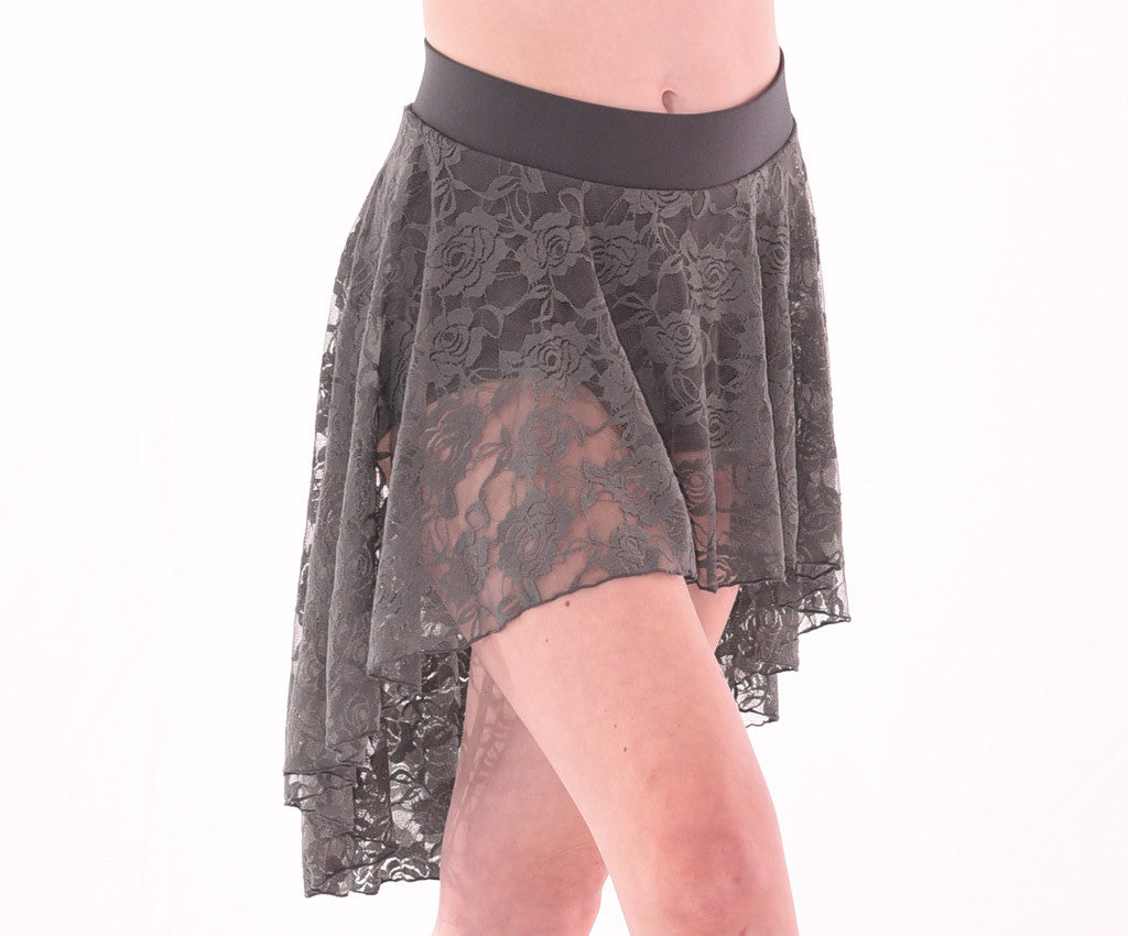 Classics Chic Lace High-Low Skirt