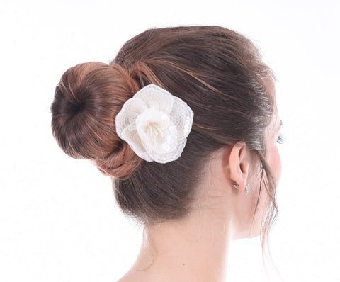 Heavenly Dainty Sequin Flower Clip