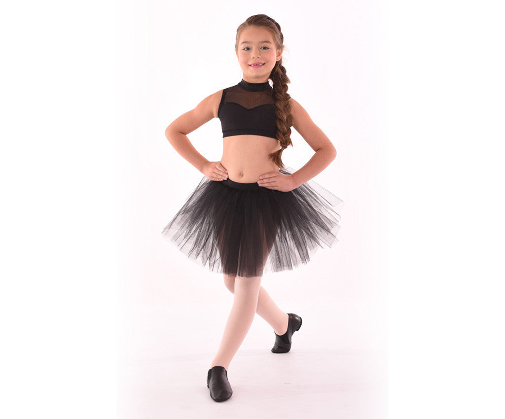 Childs Classics Sweetheart Yoke Top with Classic Tulle Tutu Skirt