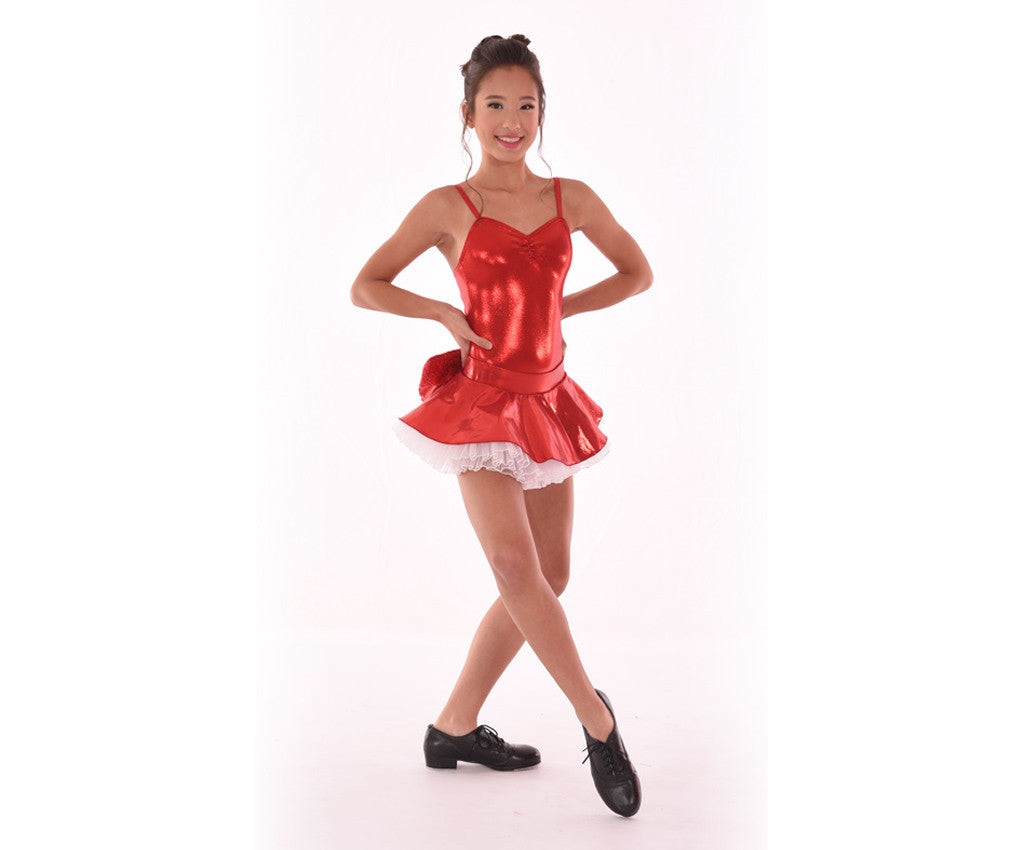 Adults Kaleidoscope Bow-tiful Poof Skirt, Red