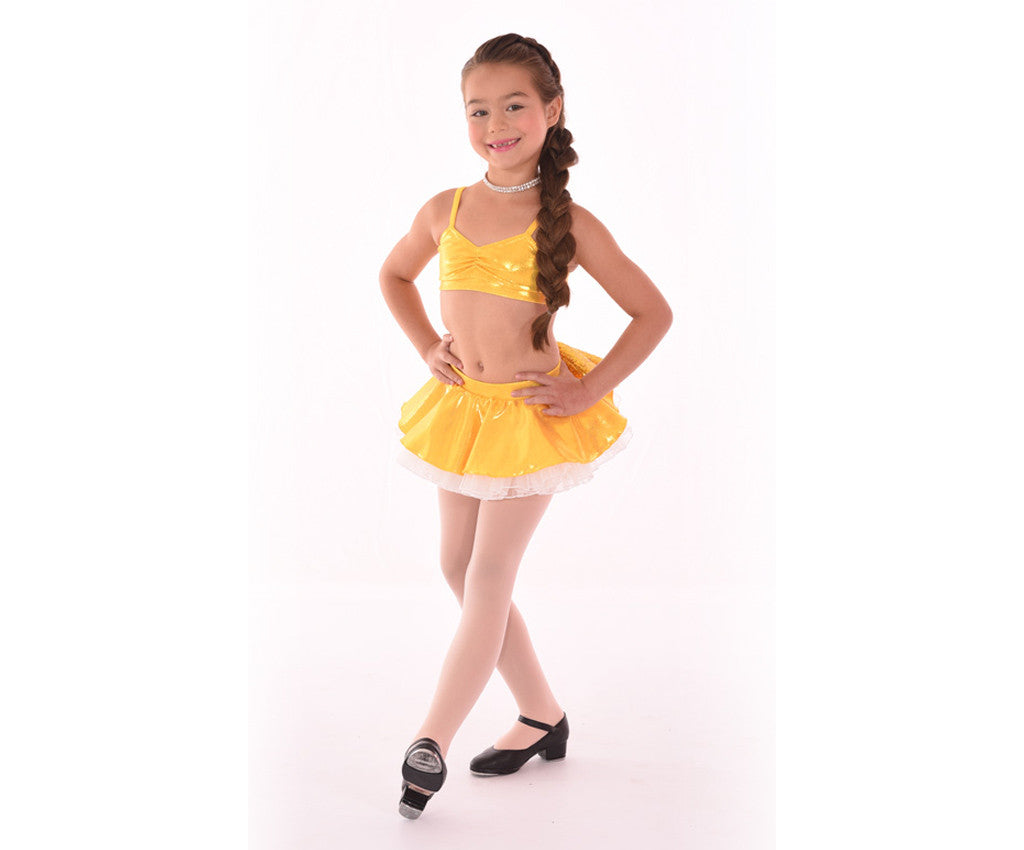 Adults Kaleidoscope Bow-tiful Poof Skirt, Yellow