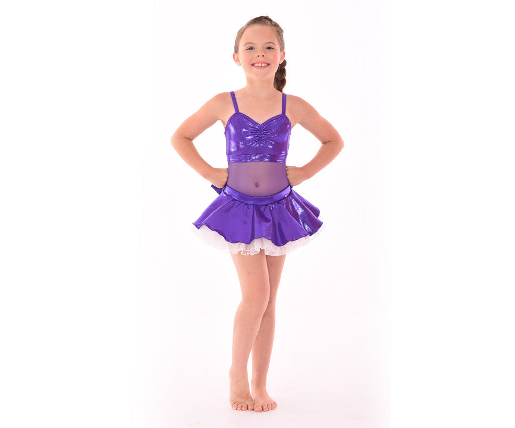 Adults Kaleidoscope Bow-tiful Poof Skirt, Purple
