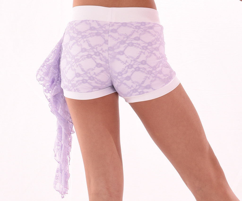 Daydream Delicate Lace Short, Back