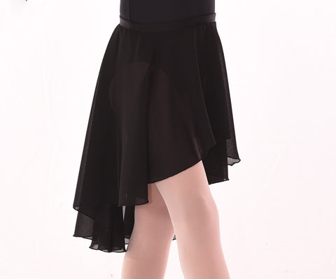Basic Chiffon Hi Low Circle Skirt - Adults