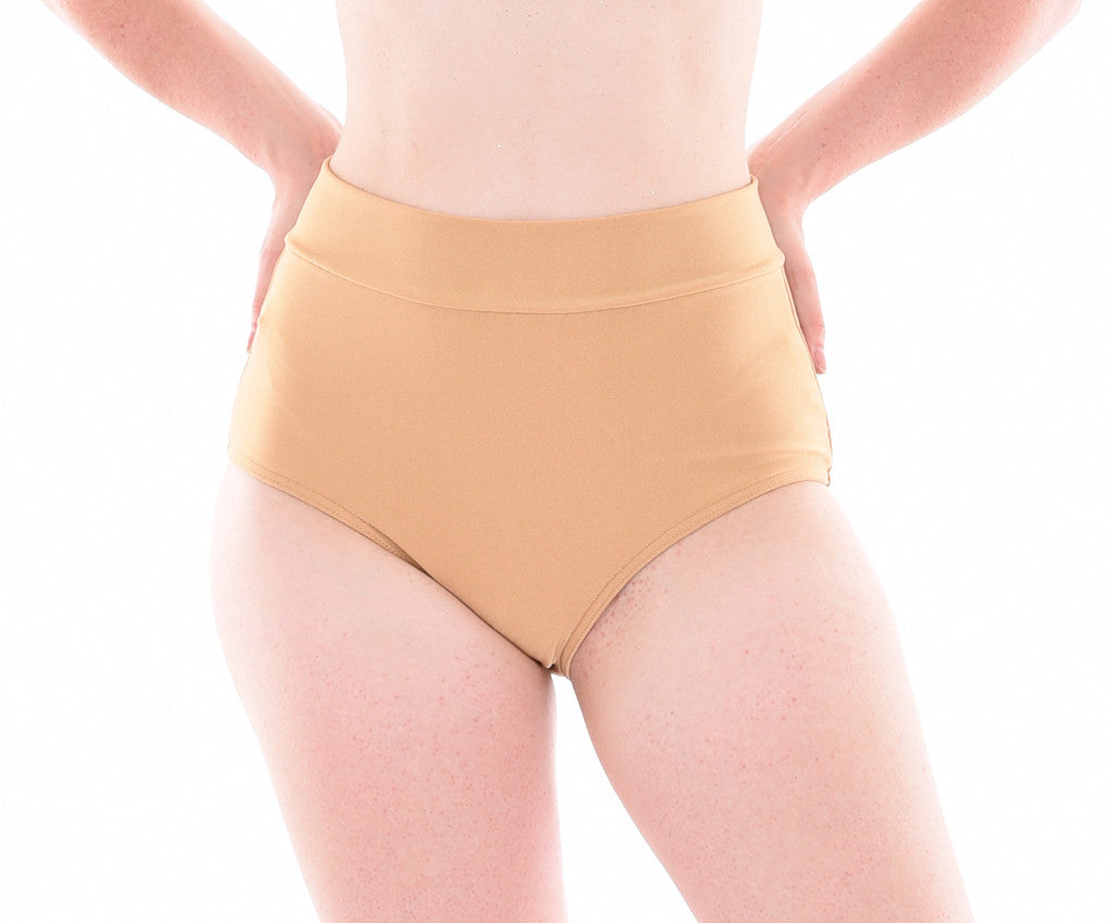 Basic Lycra High Waisted Panty - Adults