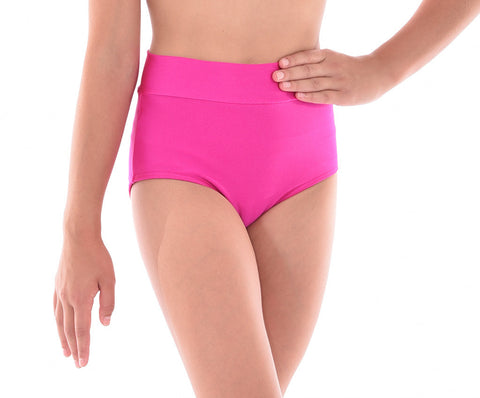 Basic Lycra High Waisted Panty - Childs