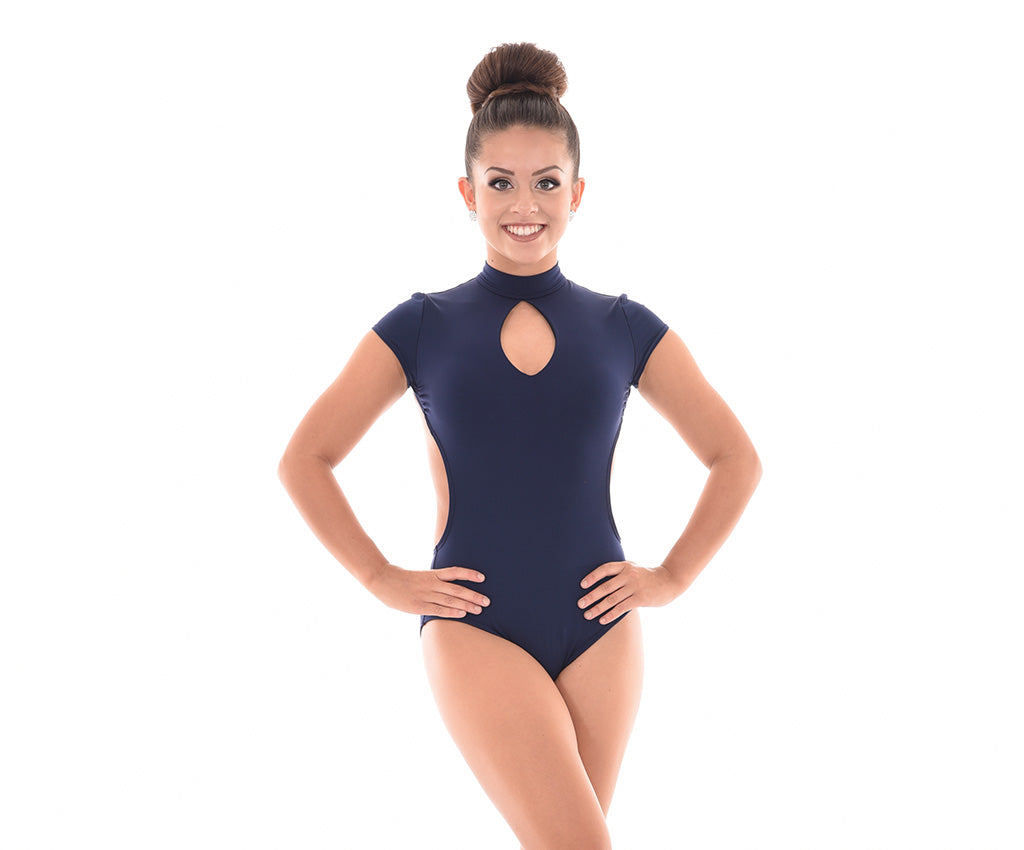 Supplex Cap Sleeve Keyhole Bodysuit – Adults
