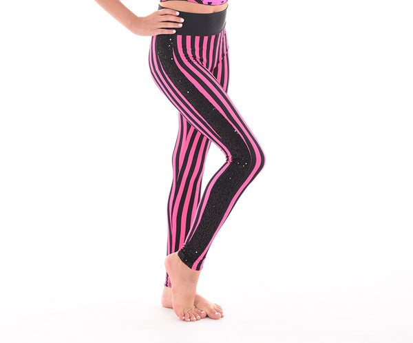Carnival Flare Side Stripe Leggings